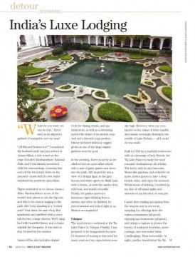India's Luxe Lodging
