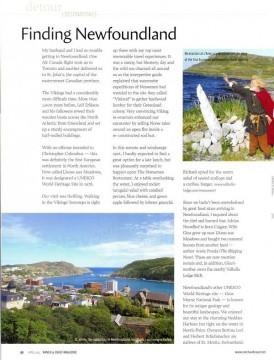 Finding Newfoundland